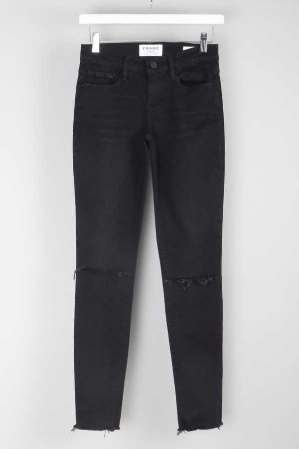 FRAME Denim Le Skinny De Jeanne Empire