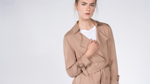 Lucca Tumbleweed Trench Coat