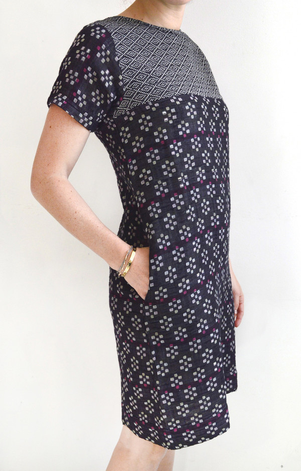 Ace & Jig Andie Dress in Kasuri