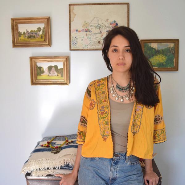 Yellow Moroccan Jacket