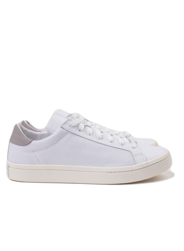 Men's Adidas Court Vantage Low White