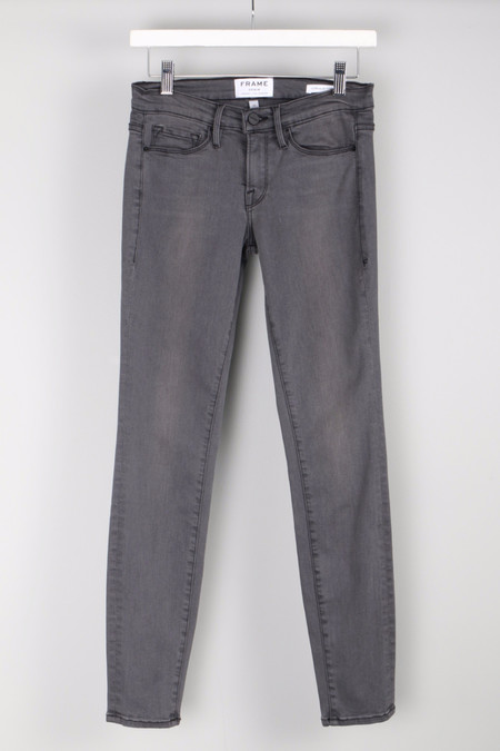 FRAME Denim Le Skinny Satine Greys Inn