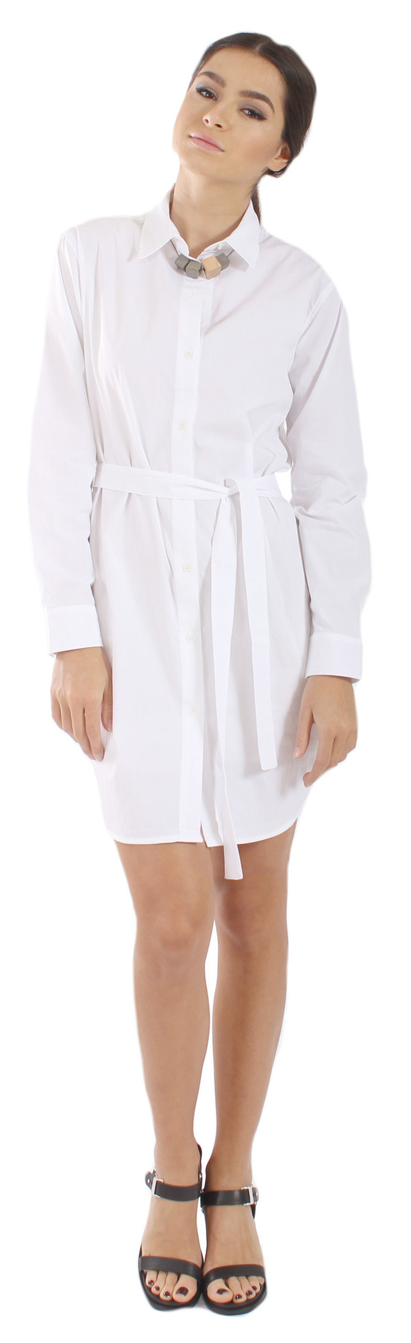 The Lady & The Sailor Button Up Tunic Dress