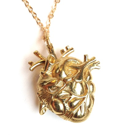 Justine Brooks Anatomical Heart Locket