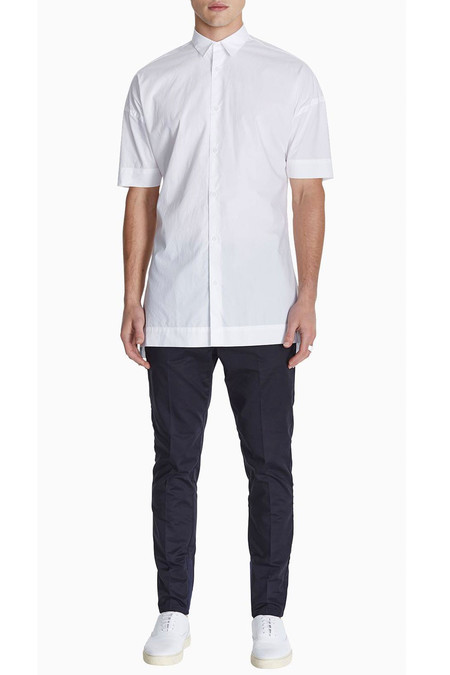 Men's Project A SS1 Shirt | Pure White