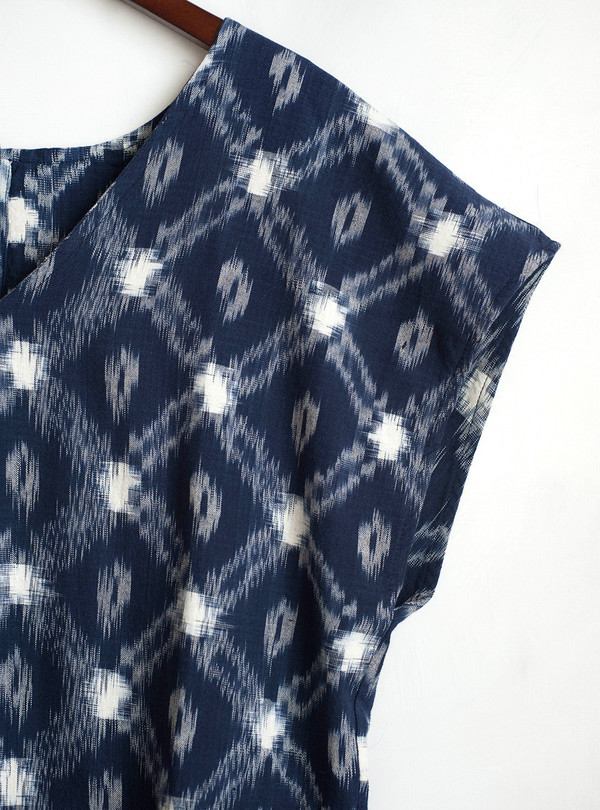 The Odells Ikat Button Shift