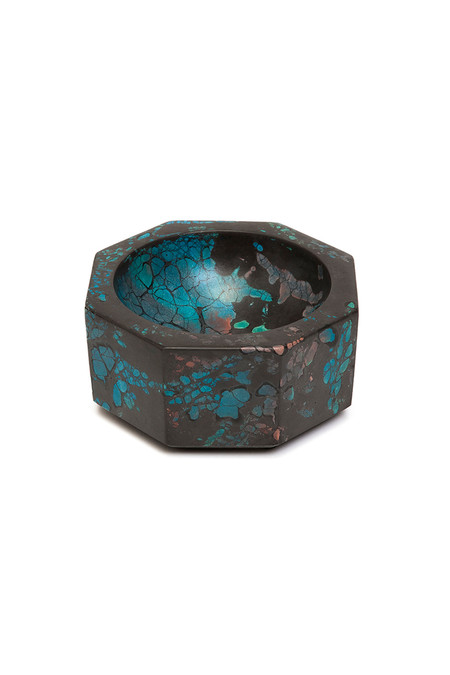 Concrete Cat Octavia Ashtray - Turquoise