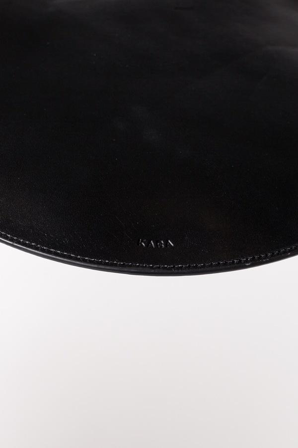 Kara Circle Clutch - black
