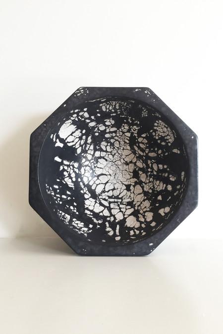 Concrete Cat Octavia Max Ashtray - Black/White