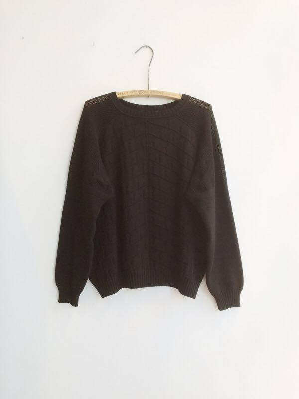 DIARTE RAFI SWEATER – BLACK