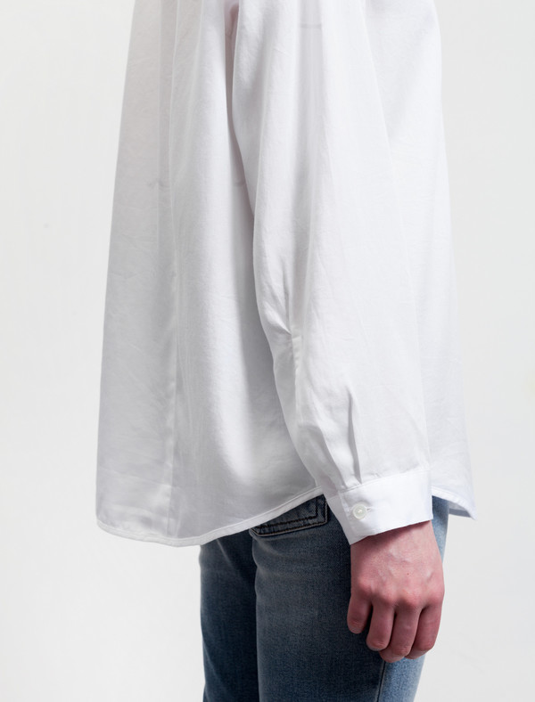 Acne Studios Addle Fluid Denim White