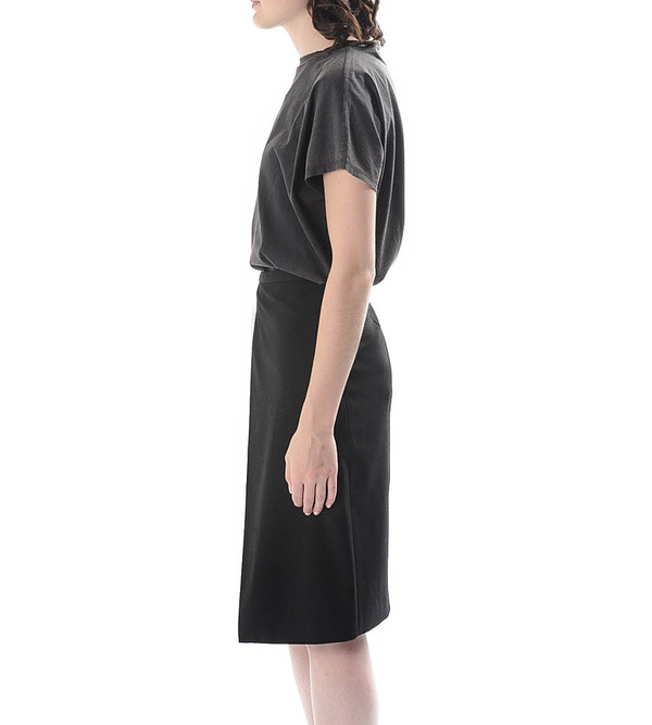 Mason By Michelle Mason Black Origami Skirt