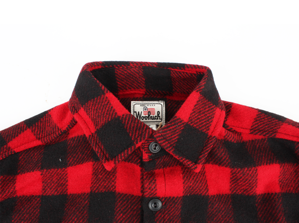 Men's WOOLRICH Eco-Rich™ Made in America Buffalo Wool Shirt