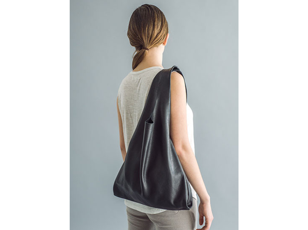 BAGGU Leather Over the Shoulder Purse