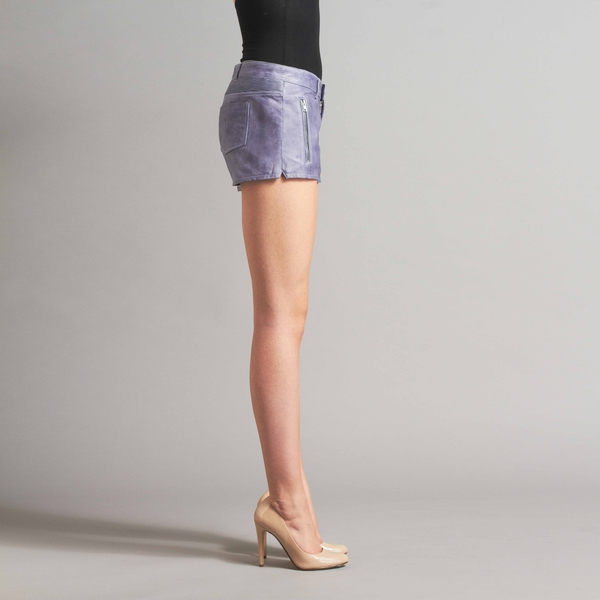 LAMARQUE KARLIE Leather Shorts