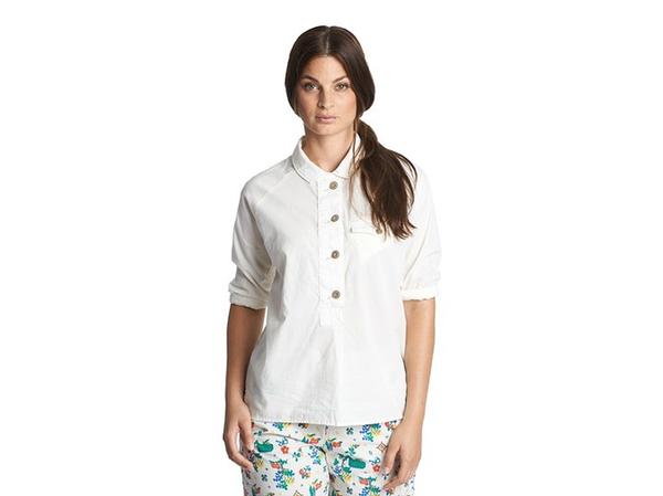 Woolrich Poplin Popover Shirt