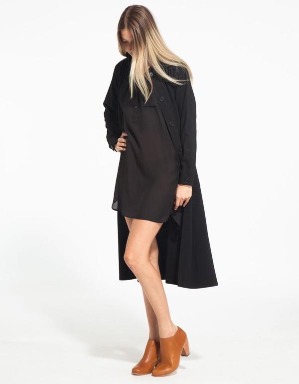 Rodebjer Odessa Coat in Black