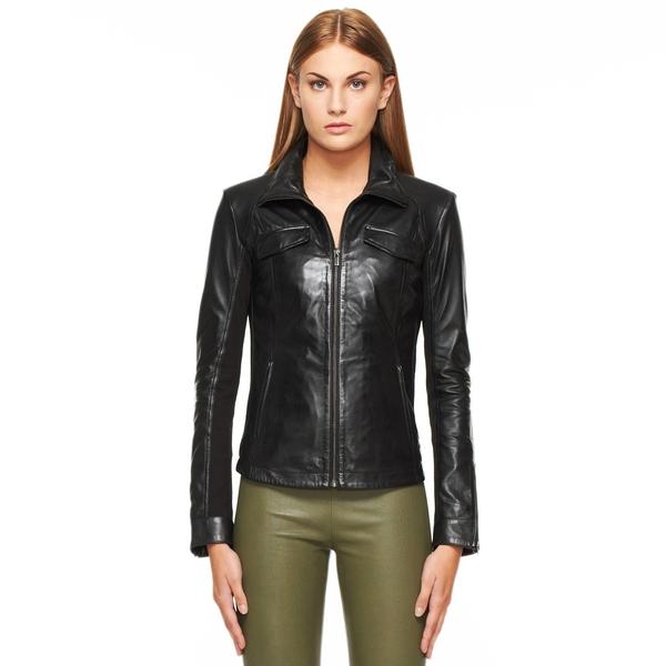 LAMARQUE Lamb Leather Jacket
