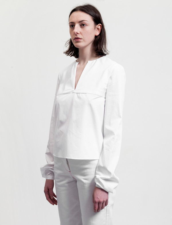 Etienne Deroeux Womens Tina Shirt White