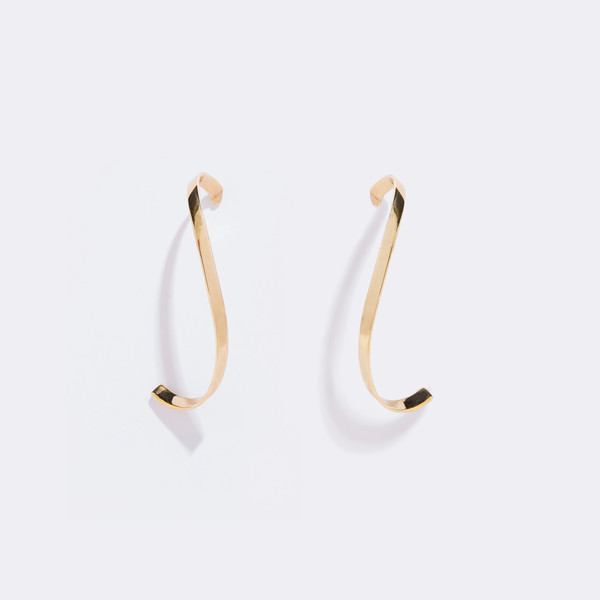 Metalepsis Projects Mobius Earrings
