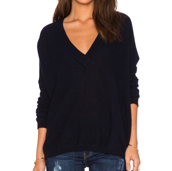 CHARLI Carys V Neck Sweater