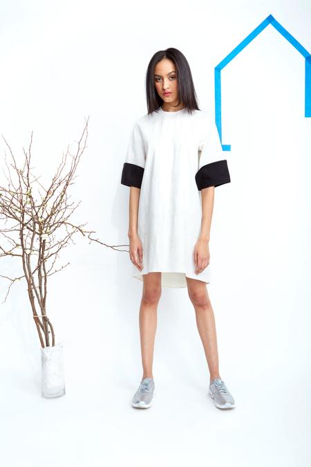CF. Goldman Cuff Dress