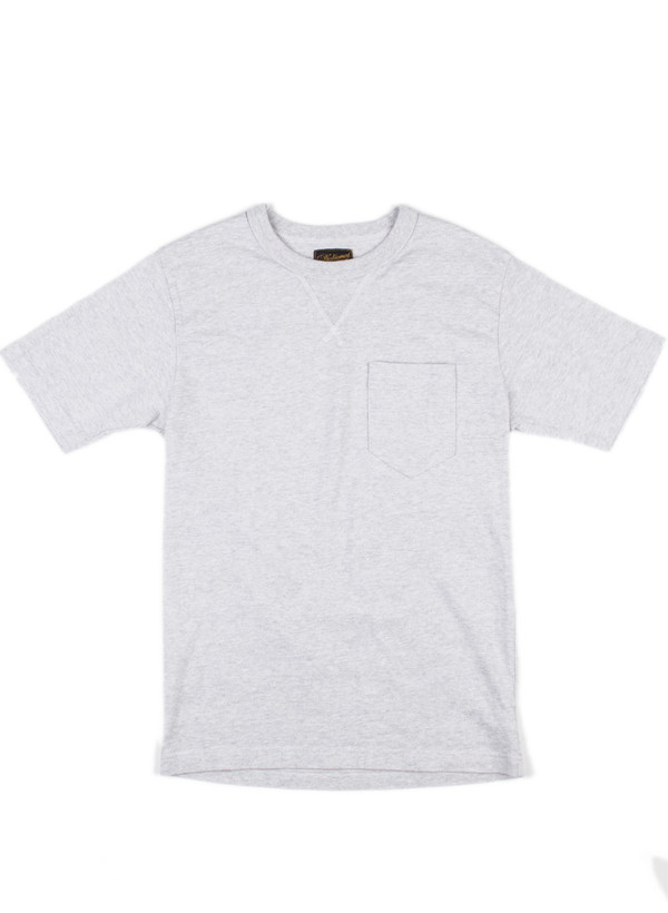 Men's National Athletic Goods V Pocket Tee White Heather