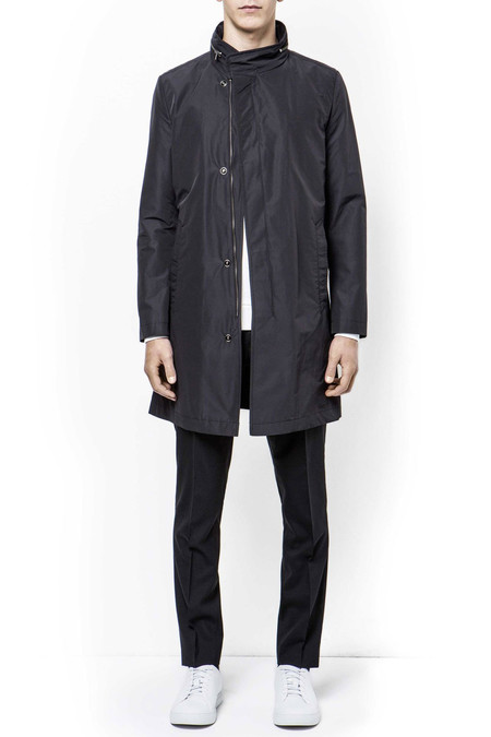 Men's Tiger of Sweden Leonard Coat | Black