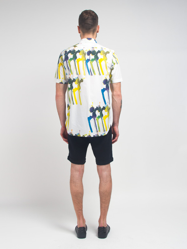 Men's Ddugoff Splotch Buttondown