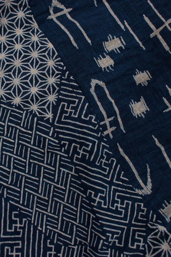 Kiriko Kiji Arrow Multi Pattern Scarf