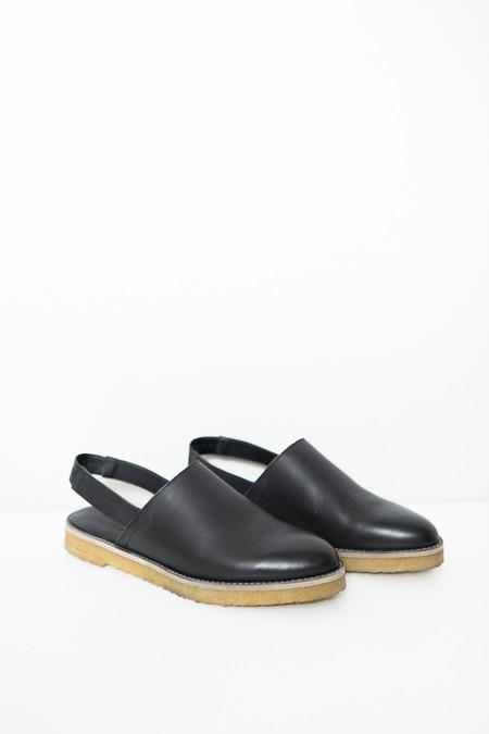 Miista Elie Slingback / Black Leather