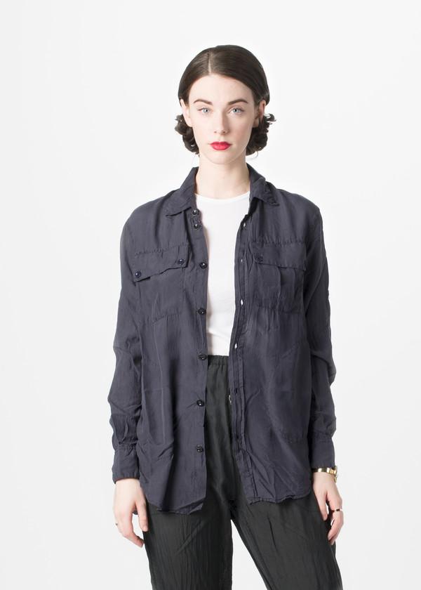 Katharine E Hamnett x YMC Habotai Silk Shirt
