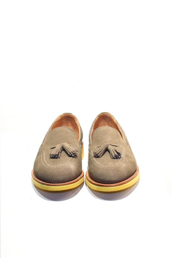 Men's Mark Mcnairy Dirty Suede Tassel Loafer