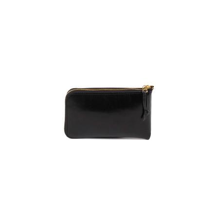 The Stowe Zip Wallet | BLK