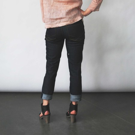 Raleigh Denim Workshop Haywood Skinny Jeans in Raw Indigo