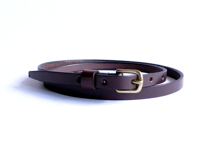 Sara Barner 1/2 in. Belt - Dark Brown