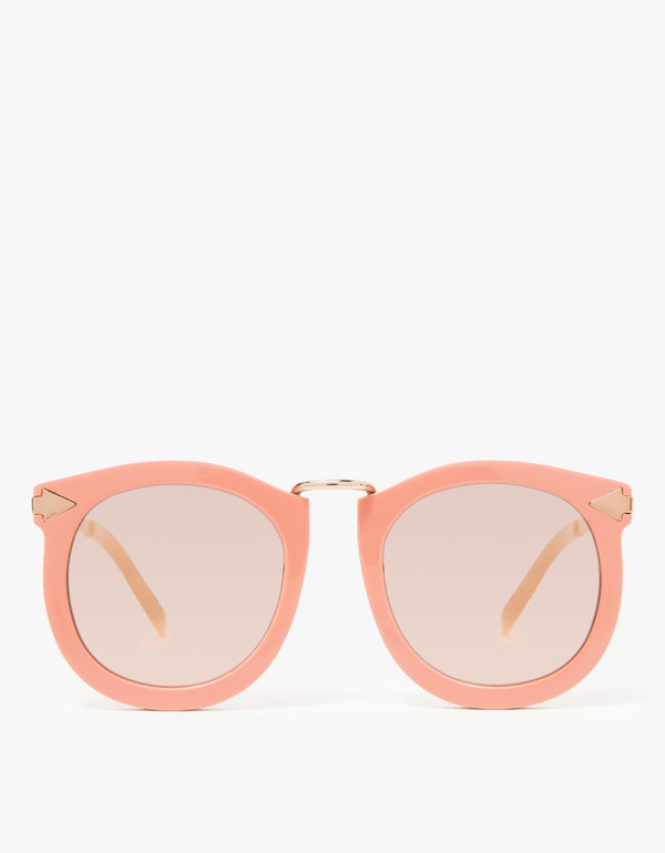 Karen Walker 'Super Lunar' Rose Pink Sunglasses