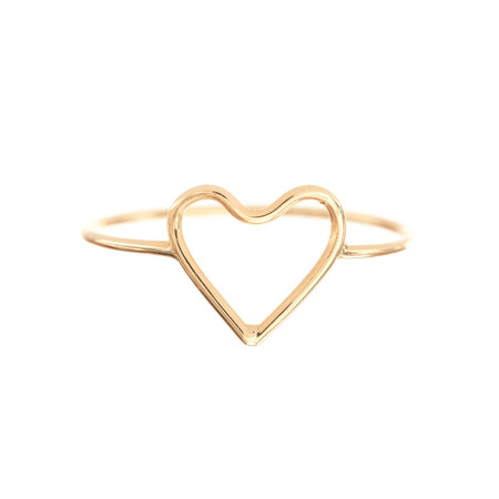 Ariel Gordon Heart ring