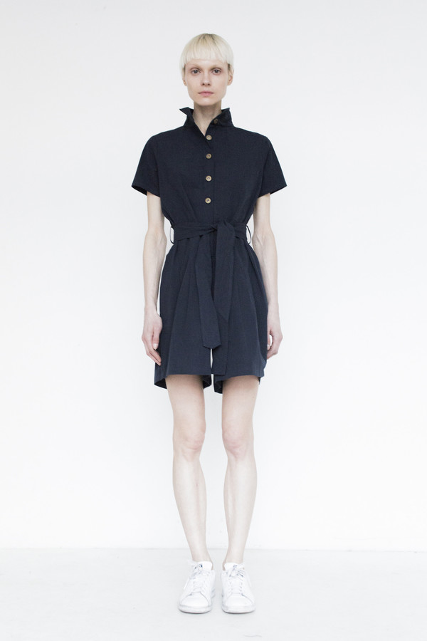 Assembly Cotton Romper