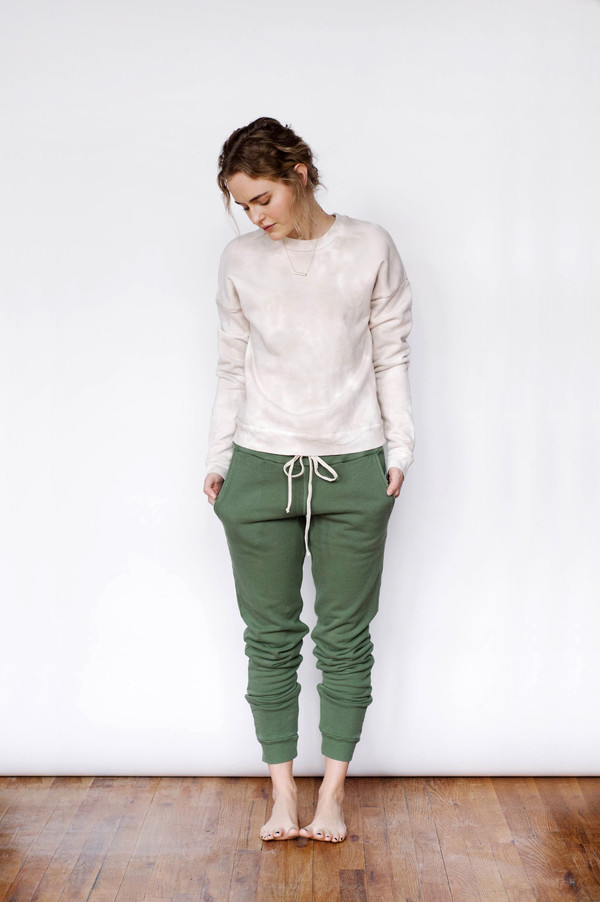 Lacausa Plie Pants Evergreen