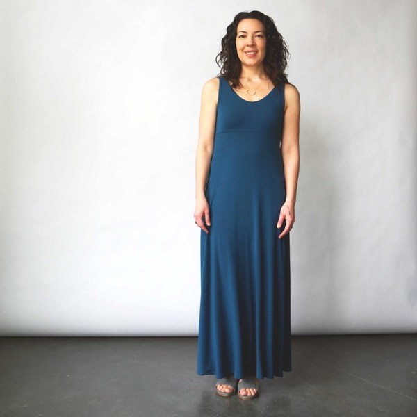 Curator Sandy Dress in Teal