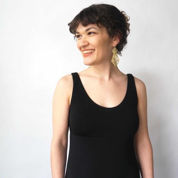 Curator Sandy Dress in Black