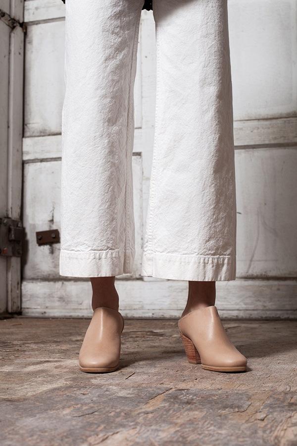 Jesse Kamm Sailor Pant - salt white/olive