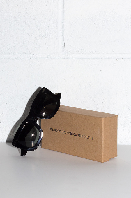 Grey Ant STATUS II BLACK SUNGLASSES