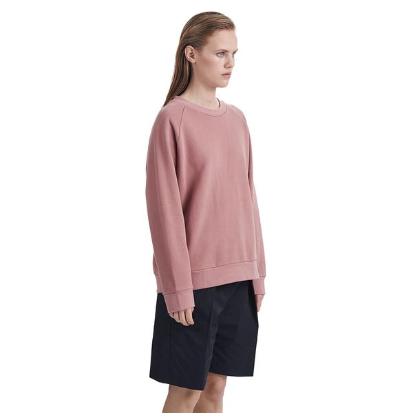 Wood Wood Manet Sweatshirt in Ash Rose