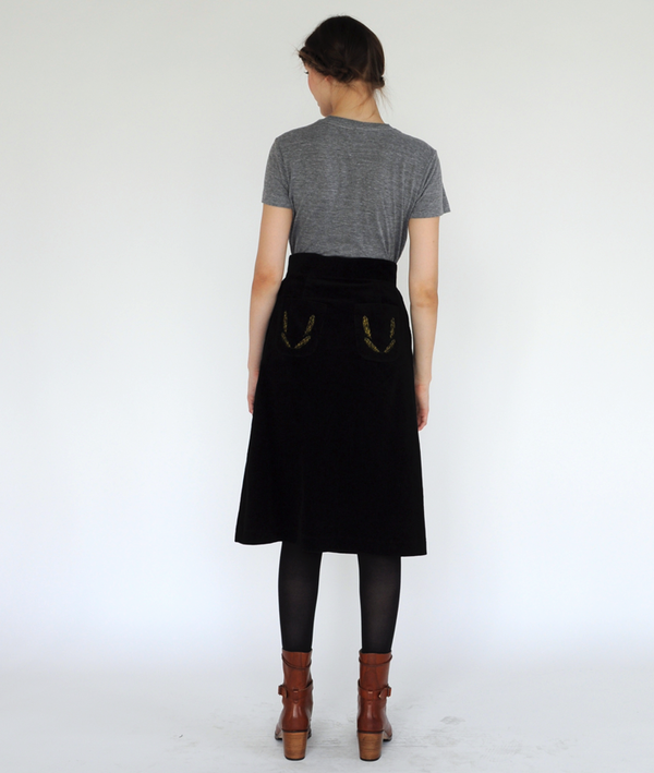 Ivana Helsinki  Feather Skirt