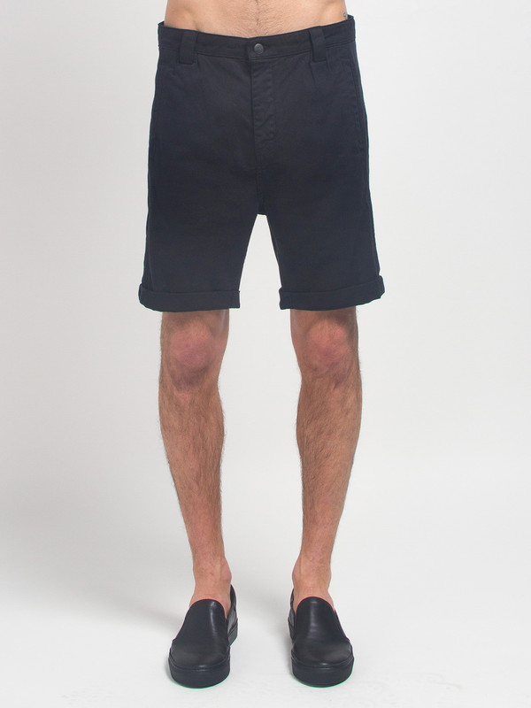 Men's Journal Taper Theo Shorts Black