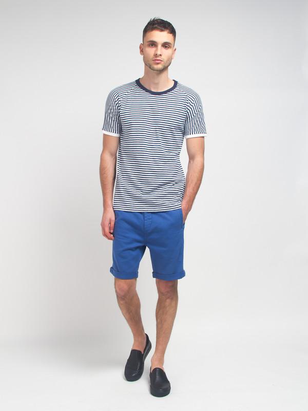 Men's Journal Taper Theo Shorts Blue
