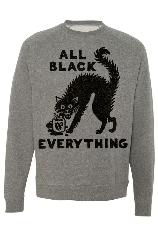 PYKNIC All Black Everything Sweatshirt