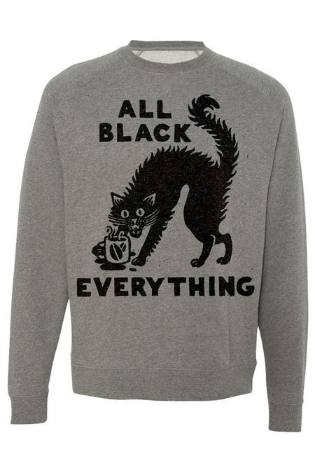 PYKNIC All Black Everything Sweatshirt